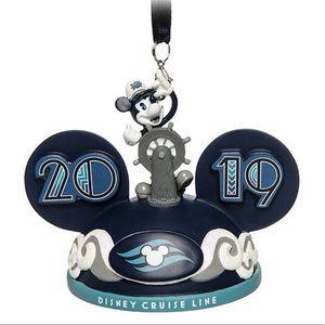 Disney Cruise Line Mickey Ear Hat Orname